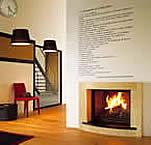 cheminée design rethel