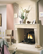 cheminée design reims